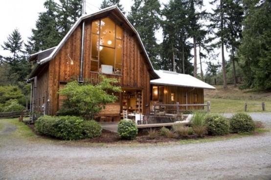 casa din hambar