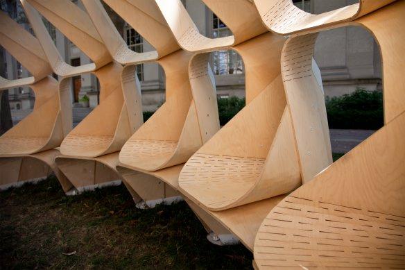 Proiect MIT - set de scaune din campus
