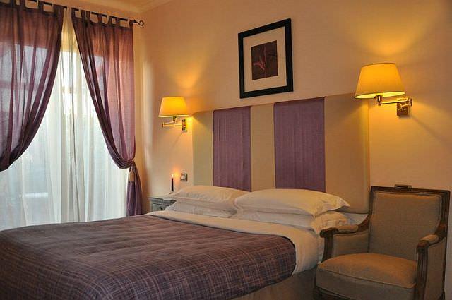 amenajare dormitor B&B Althea Inn Roma