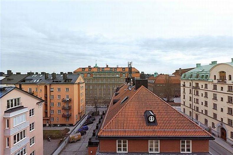 design scandinav pentru mansarda