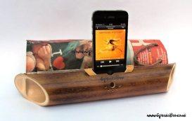 amplificator din bambus pasiv