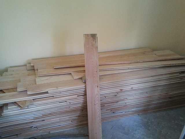 podele de lemn - montaj podele