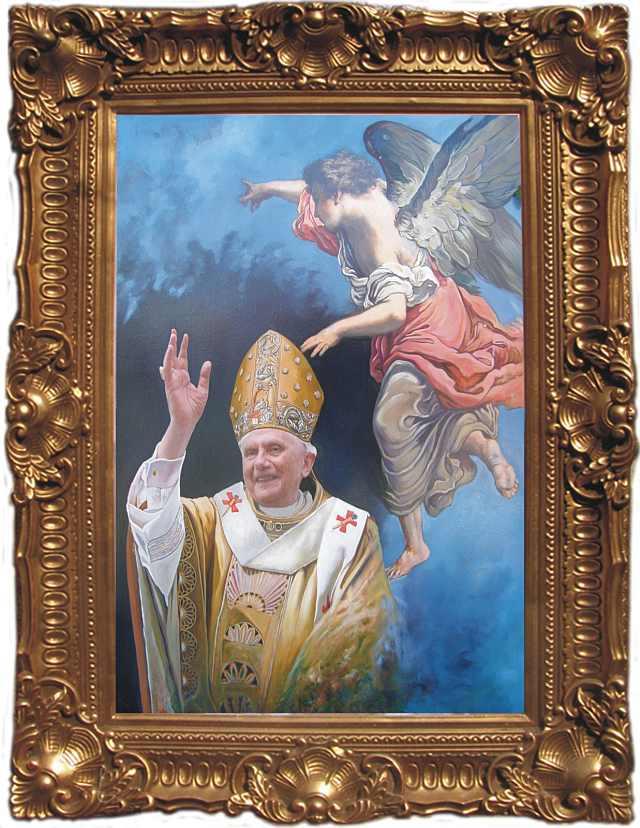 Papa de la roma - Pictura