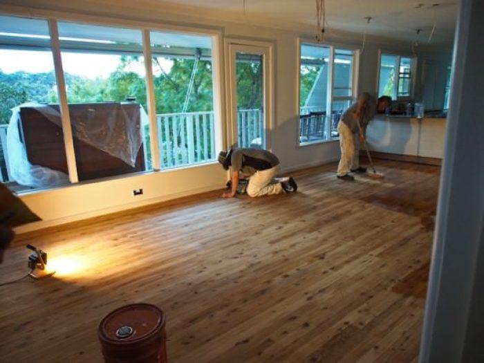 podea de lemn