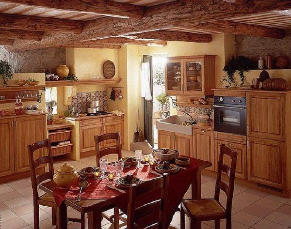 bucatarie cu decor french bucataria franceza