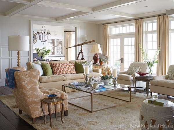 living room luxuriant