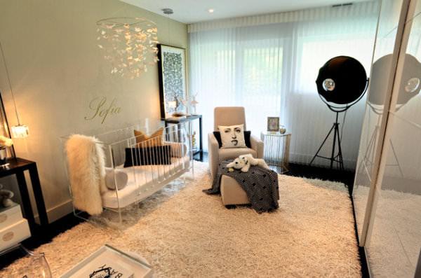 camera copilului in stil modern