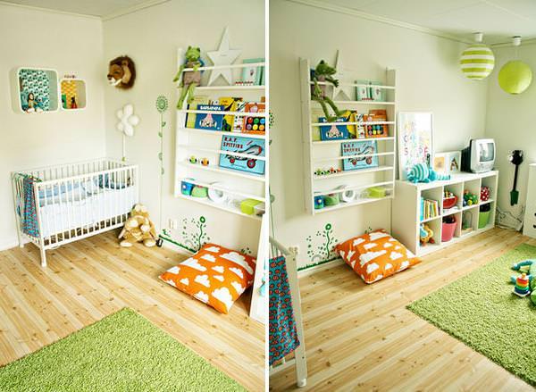 camera copilului scandinava