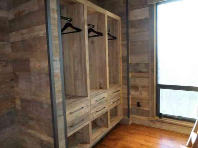 lemn vechi în amenajări americane