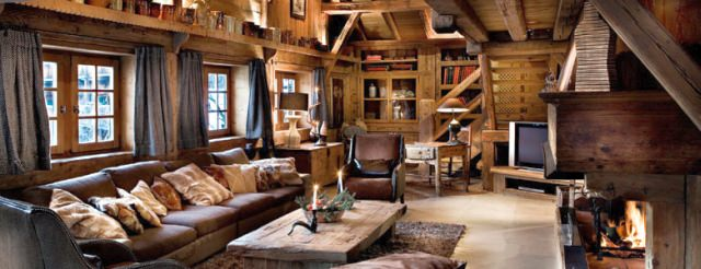 cabana și schi