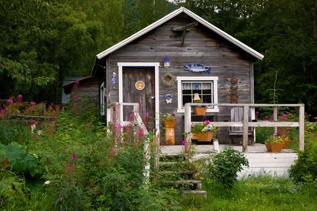 Pentru c cabane din lemn for Alaska log home plans