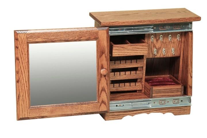 Casete de bijuterii din lemn