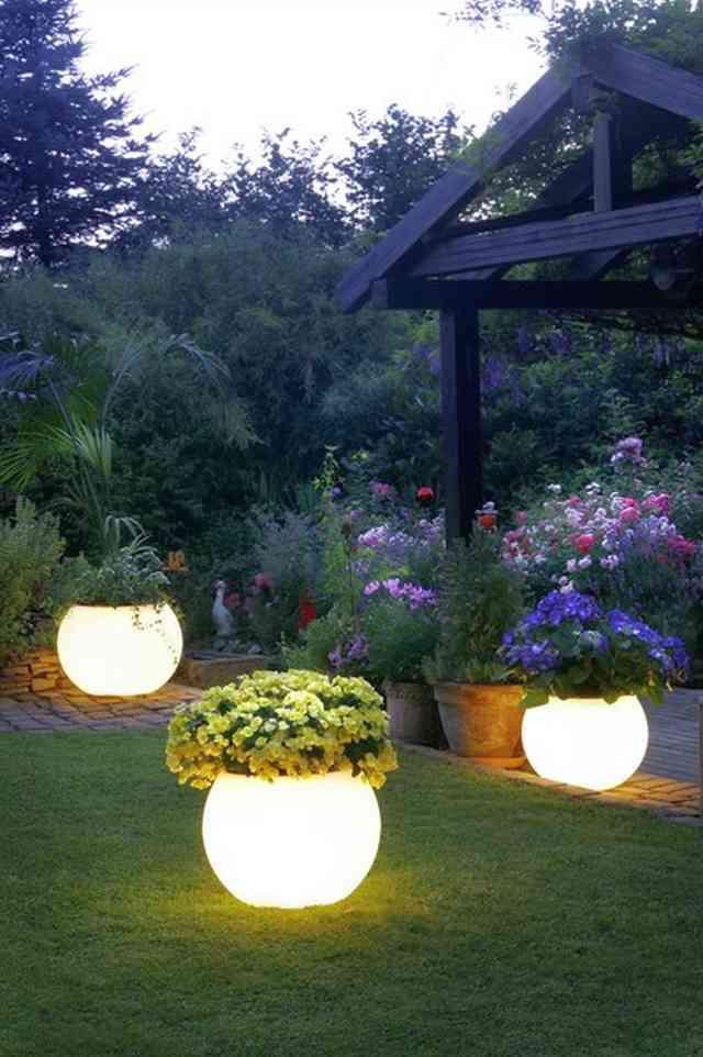 iluminarea gradinii - iluminatul exterior
