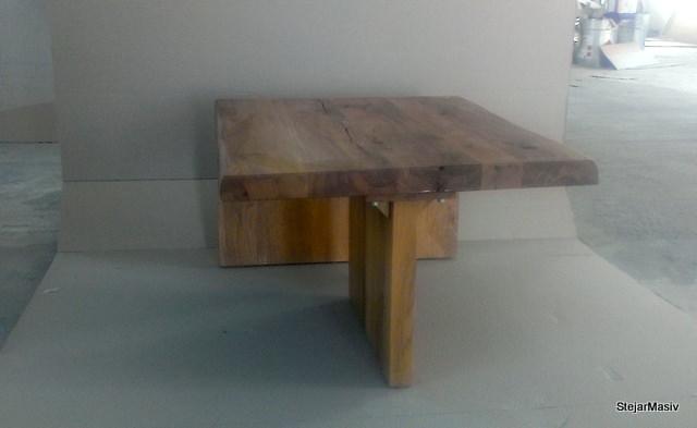 mobila din lemn masiv de stejar