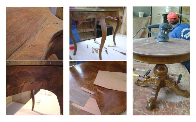 recondiționare și restaurare mobila veche