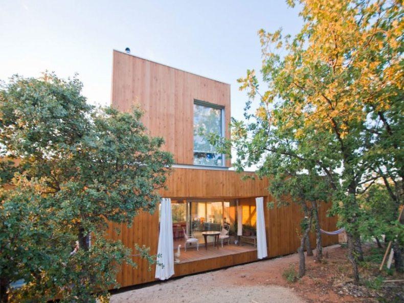 casa ecologică fara fundatie - EX-House