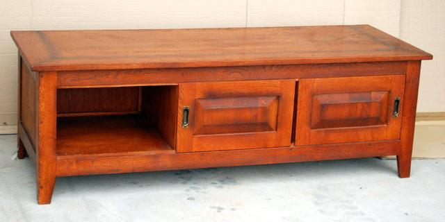 mobila din lemn masiv - stand TV