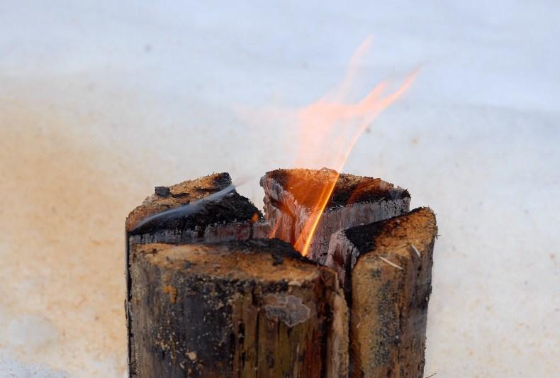 cum sa faci focul