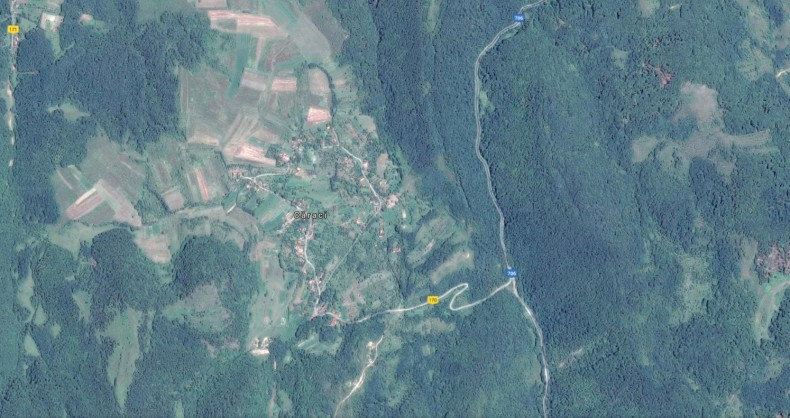 satul Caraci Hunedoara