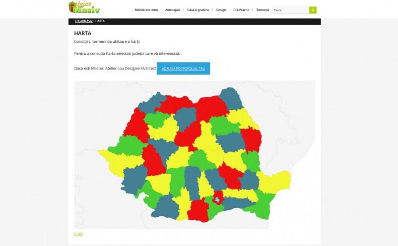 harta comunitatii stejarmasiv.ro mesteri ateliere designeri