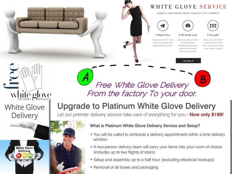 Livrare White Glove