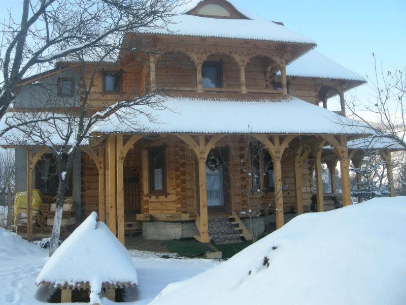 lemn din Maramuresul istoric
