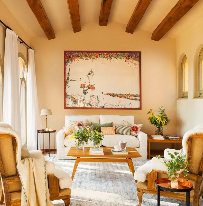 lucrarile de arta intr-o Casa mediteraneana