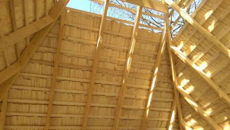 folie anticondens sub dranita - invelitori din lemn