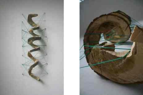 produse artizanale din lemn si sfoara