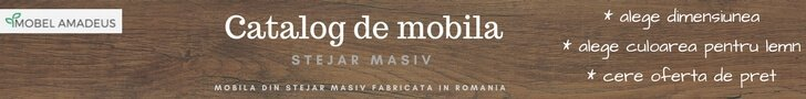 Catalog de mobila din stejar masiv