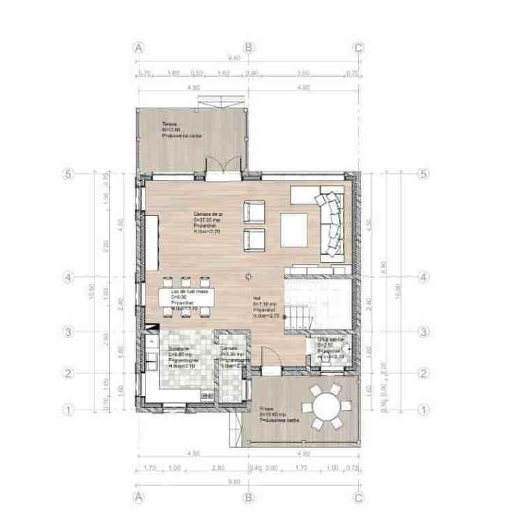 proiect de casa mare