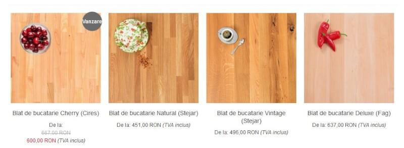 blat de bucatarie din lemn masiv de stejar - Dippanels (1)