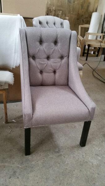 scaun tapitat Morgan - stofa Prato 24