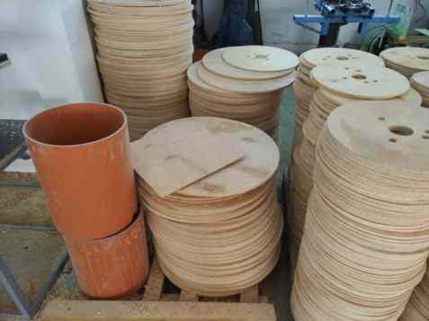 tamburi de cablu - componente