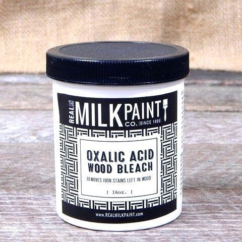 cum albesti lemn aplicând acid oxalic