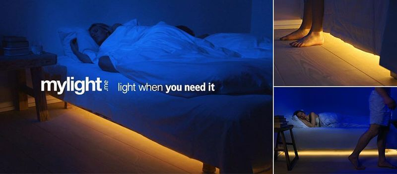 smart bed light