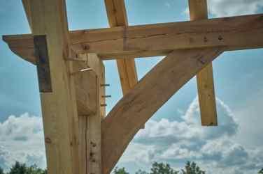 Cruck Frame Cabin