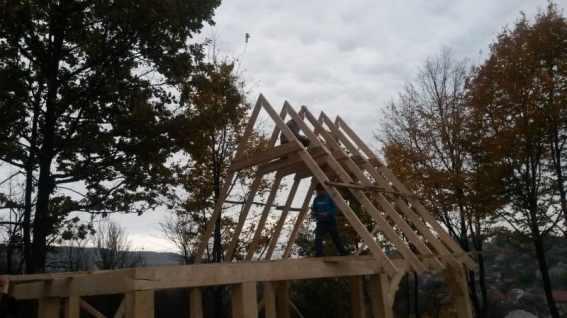 structura de rezistenta din lemn
