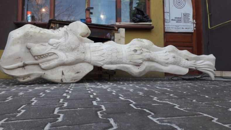 lupul dacic - dracon 3 m