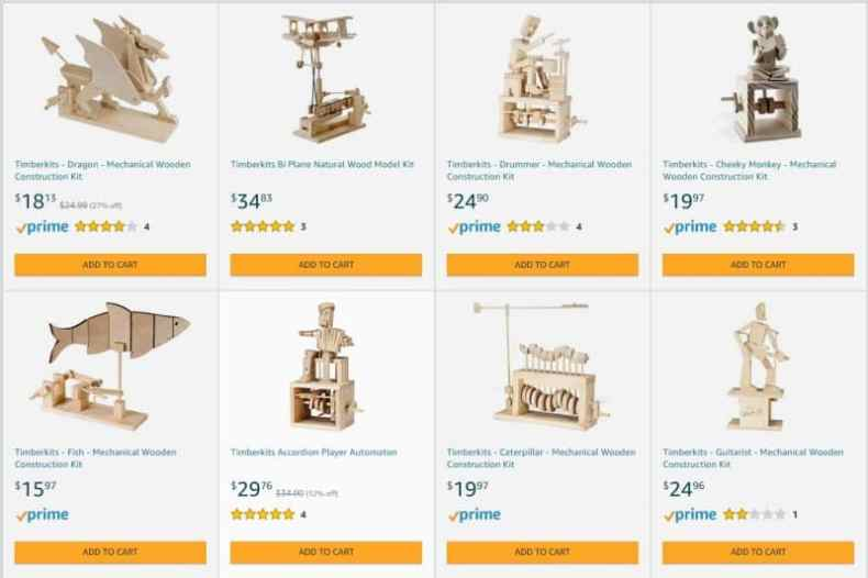 Amazon Timberkits
