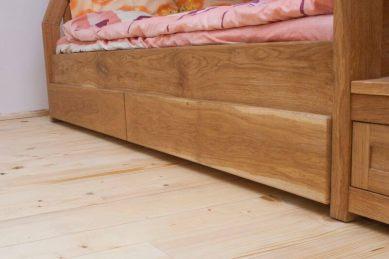 pat etajat din stejar pentru copii