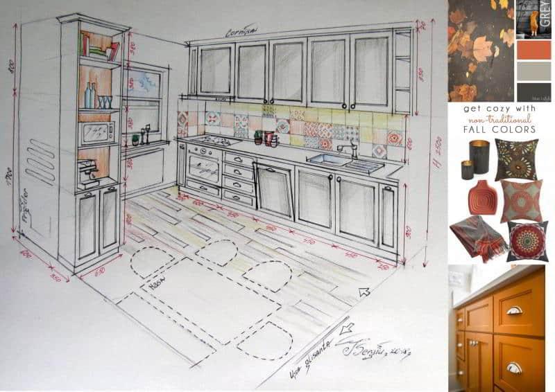Design interior bucatarie crangasi sete.ro