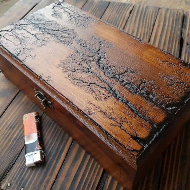 cutii pentru ceasuri fabricate din lemn