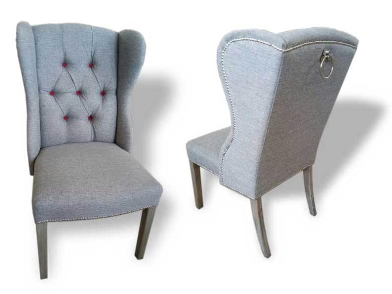 scaun Roxy cu butoni rosii