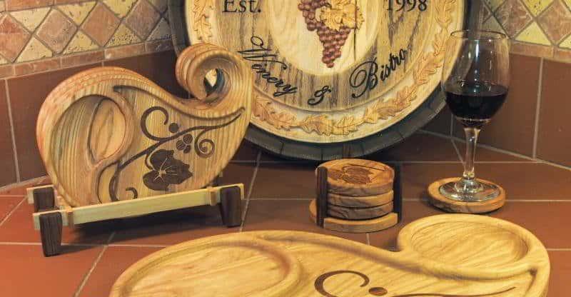 appetizer plate platou din lemn
