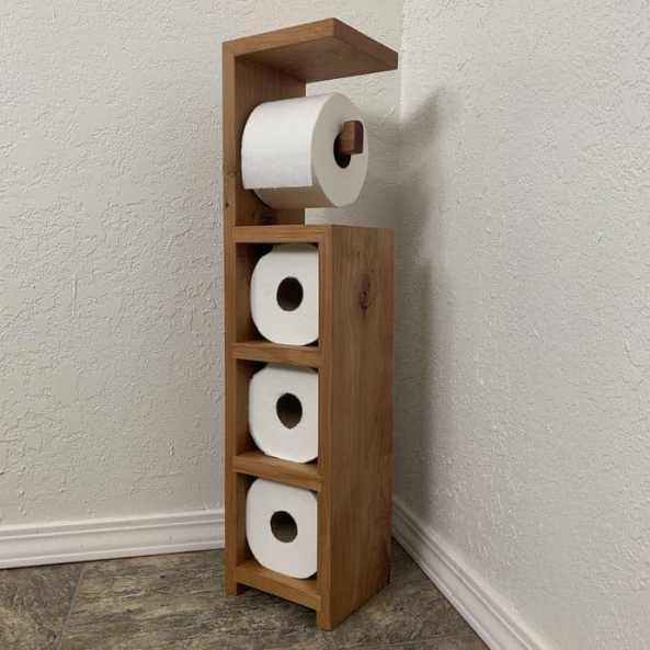 Instructables Scrap Wood Toilet Paper Holder