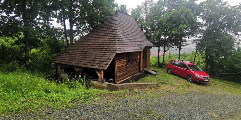 cabana de la livada din Baia Sprie - viata