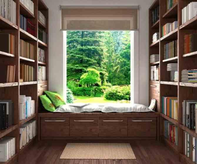 colțul de lectură