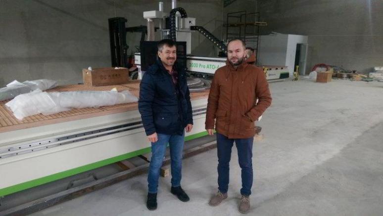 RUBIQ CNC Dan Pruteanu și Tibi Incze Kraft Mobel