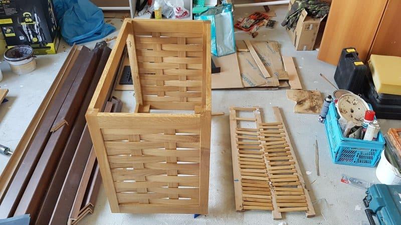 detalii din procesul de fabricatie pentru mobilier